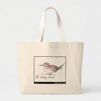 Edward Lear's Stripy Bird Bag