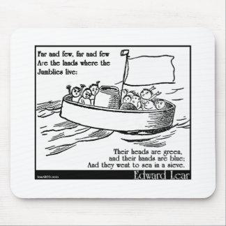 Edward Lear's The Jumblies Mouse Pad