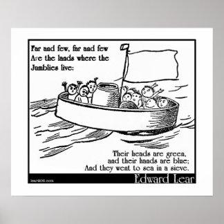 Edward Lear's The Jumblies Poster