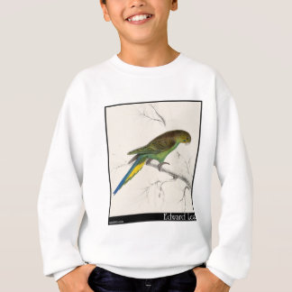 Edward Lear's Undulated Parakeet Sweatshirt