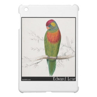 Edward Lear's Variegated Parakeet iPad Mini Cover
