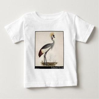 Edward Lear's Wattled Crown Crane Baby T-Shirt