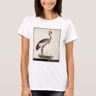Edward Lear's Wattled Crown Crane T-Shirt