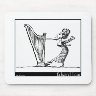 Edward Lear's Young Lady whose chin Image Mouse Pad