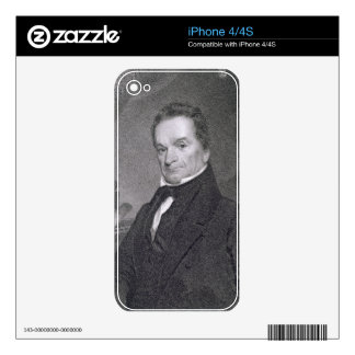Edward Livingston, engraved by Edward Wellmore (fl Skin For The iPhone 4