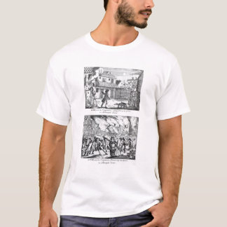 Edward Lowe and his companions setting fire T-Shirt