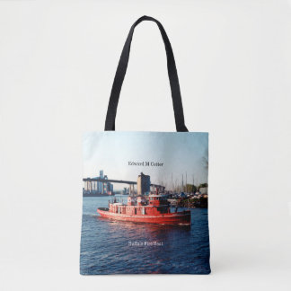 Edward M. Cotter all over tote bag