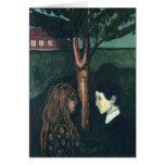Edward masca la pintura del arte felicitacion