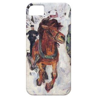 Edward masca la pintura del arte iPhone 5 coberturas