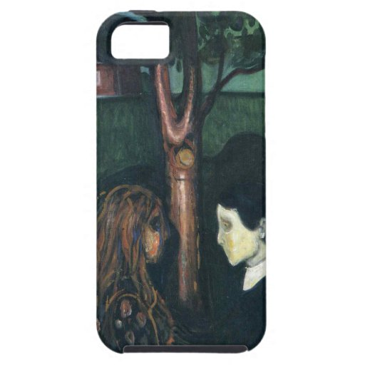 Edward masca la pintura del arte iPhone 5 Case-Mate cárcasa