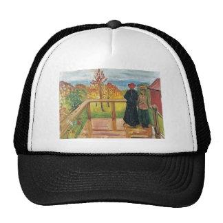 Edward masca la pintura del arte gorras de camionero