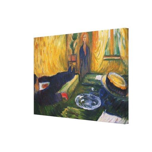 Edward masca la pintura del arte impresión en lona