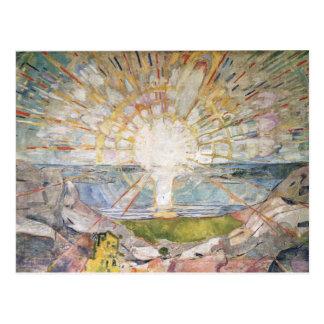 Edward masca la pintura del arte postales
