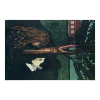 Edward masca la pintura del arte póster