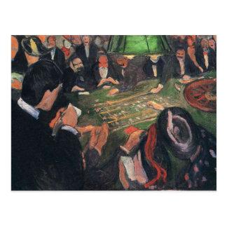 Edward masca la pintura del arte tarjetas postales