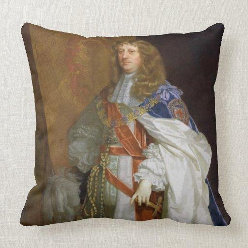 Edward Montagu, 1r conde del bocadillo, c.1660-65  Cojin