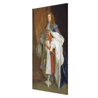 Edward Montagu, 1r conde del bocadillo, c.1660-65  Impresiones En Lona Estiradas