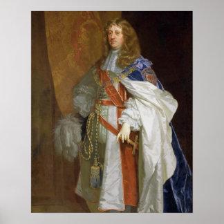 Edward Montagu, 1r conde del bocadillo, c.1660-65  Póster