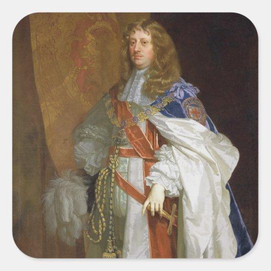 Edward Montagu, 1st Earl of Sandwich, c.1660-65 (o Square Sticker