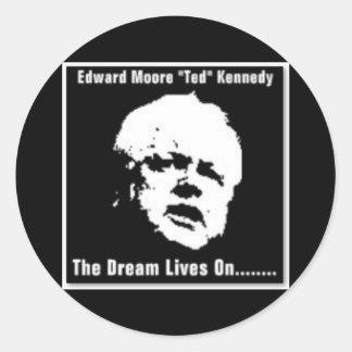 "Edward Moore ""Ted"" Kennedy Sticker"