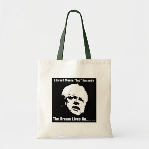 """Edward Moore """"Ted"""" Kennedy Tote Bag"""