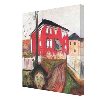 Edward Munch Art Painting Canvas Print