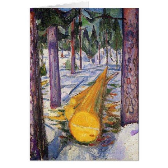 Edward Munch Art Painting Card
