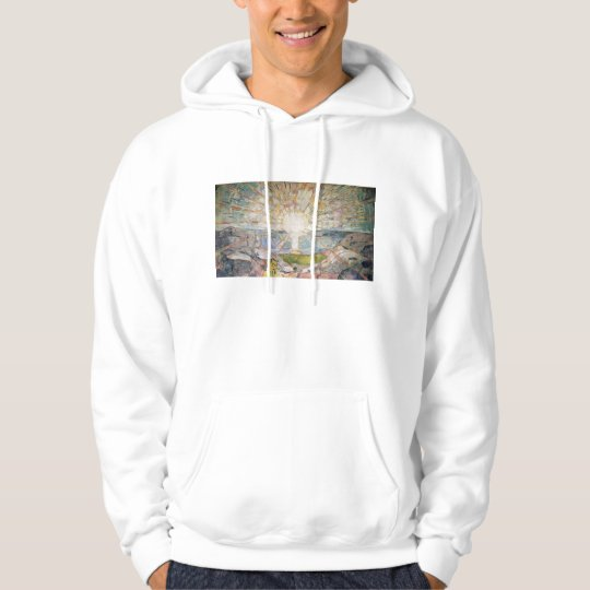Edward Munch Art Painting Hoodie
