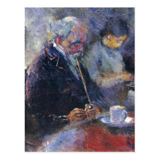 Edward Munch Art Painting Post Card