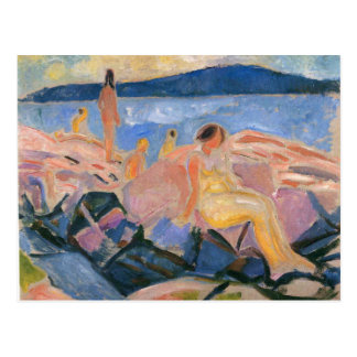 Edward Munch Art Painting Postcards