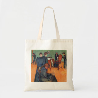 Edward Munch Art Painting Tote Bag
