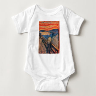Edward Munch The Scream Baby Bodysuit