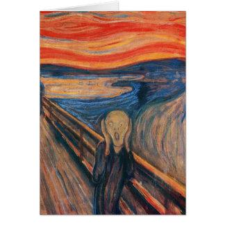 Edward Munch The Scream Card