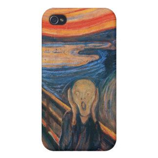 Edward Munch The Scream Cover For iPhone 4
