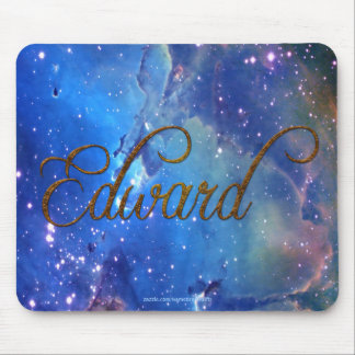 EDWARD Name-Branded Personalised Gift Mousepad