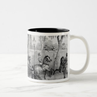 Edward Oxford's attempt to assasinate Queen Two-Tone Coffee Mug