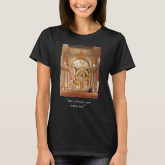 Edward Petrovich - Cathedral in the Winter Palace T-Shirt