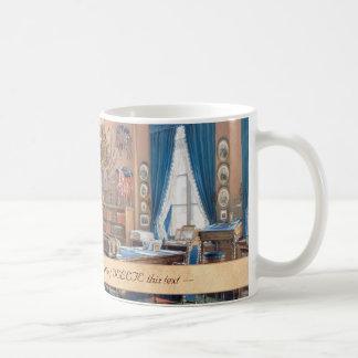 Edward Petrovich Interiors of the Small Hermitage Classic White Coffee Mug