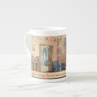 Edward Petrovich Interiors of the Small Hermitage Tea Cup