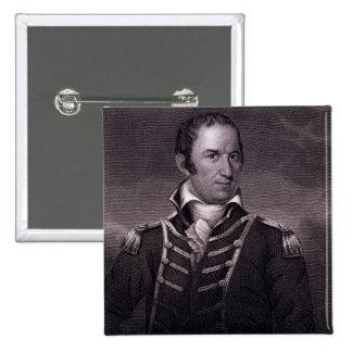 Edward Preble (1761-1807), engraved by Henry Bryan Pinback Button