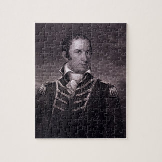 Edward Preble (1761-1807), engraved by Henry Bryan Jigsaw Puzzle