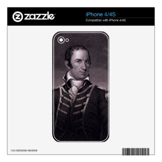 Edward Preble (1761-1807), engraved by Henry Bryan Skin For iPhone 4S