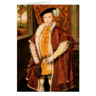 Edward, Prince of Wales (Edward VI of England) Card