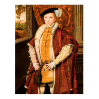 Edward, Prince of Wales (Edward VI of England) Postcard