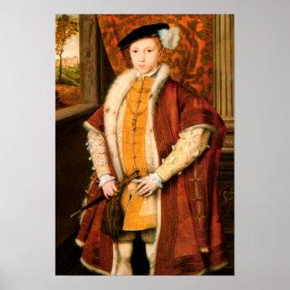Edward, Prince of Wales (Edward VI of England) Poster
