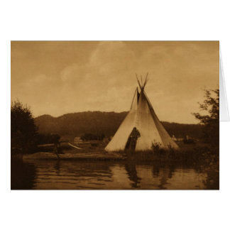 Edward S. Curtis Blank Note Card