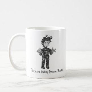 Edward Safety Scissor Hands Coffee Mug