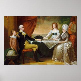 Edward Savage The Washington Family Poster