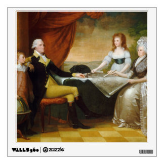 Edward Savage The Washington Family Wall Sticker