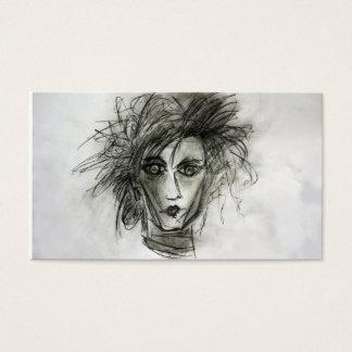 Edward Scissors Hairdresser Bussiness Cards